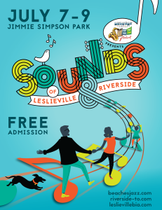 Sounds of Leslieville and Riverside 2017