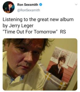 Pre-order the new album TIME OUT FOR TOMORROW now / Ron Sexsmith tweet