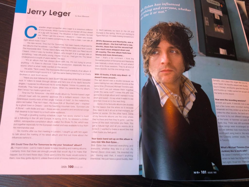 Interview in Feb issue of UK's hifi+ Magazine! On stands now