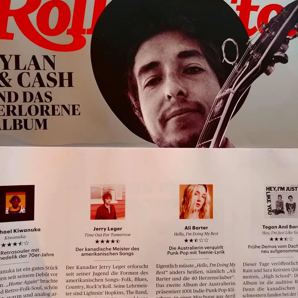 New album out now and Rolling Stone gives it 4.5 out of 5 in Europe!